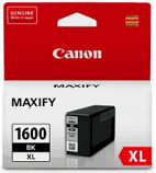 Genuine Canon PGI-1600XL Black Ink Cartridge