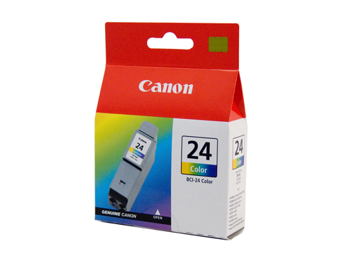 Genuine Canon BCI24 Colour Ink Tank