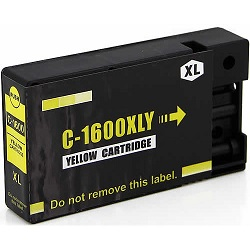 Compatible Canon PGI-1600XL Yellow ink cartridge