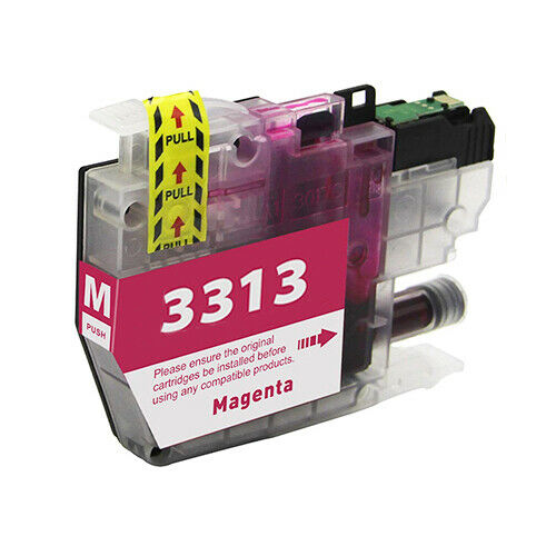 Compatible Brother LC3313 Magenta Ink Cartridge