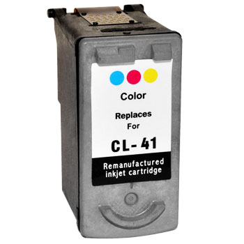 Remanufactured Canon CL41 (Colour) ink cartridge