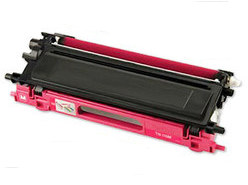 Compatible Brother TN340 Magenta laser toner cartridge